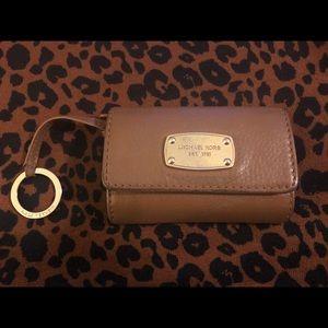 Michael Kors keychain wallet with ID window